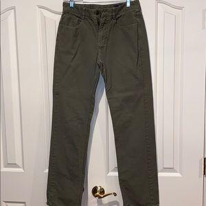 Vineyard Vines 3-Pocket Green Pants, Size: 32 / 34